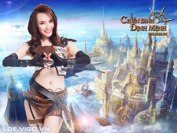 Angela Phương Trinh nóng bỏng với cosplay game 16+ Chiến Binh Định Mệnh 9