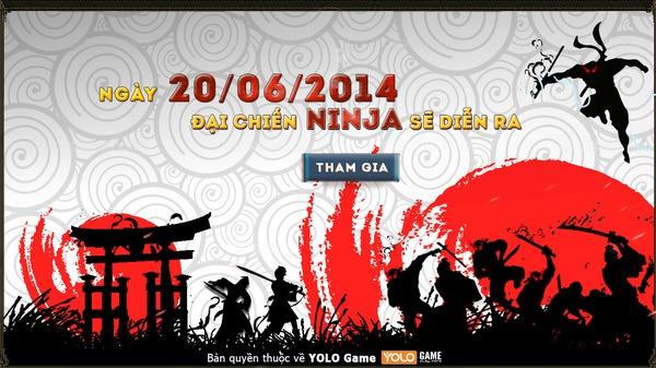 Xuất hiện teaser mang tên Đại chiến Ninja tại Việt Nam 1