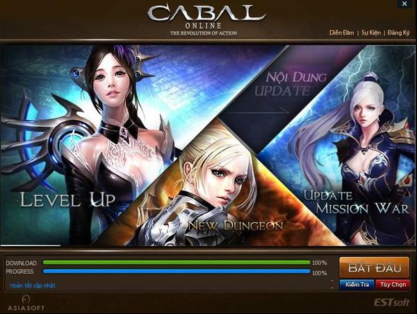 Cabal chính thức cho game thủ Việt download 1