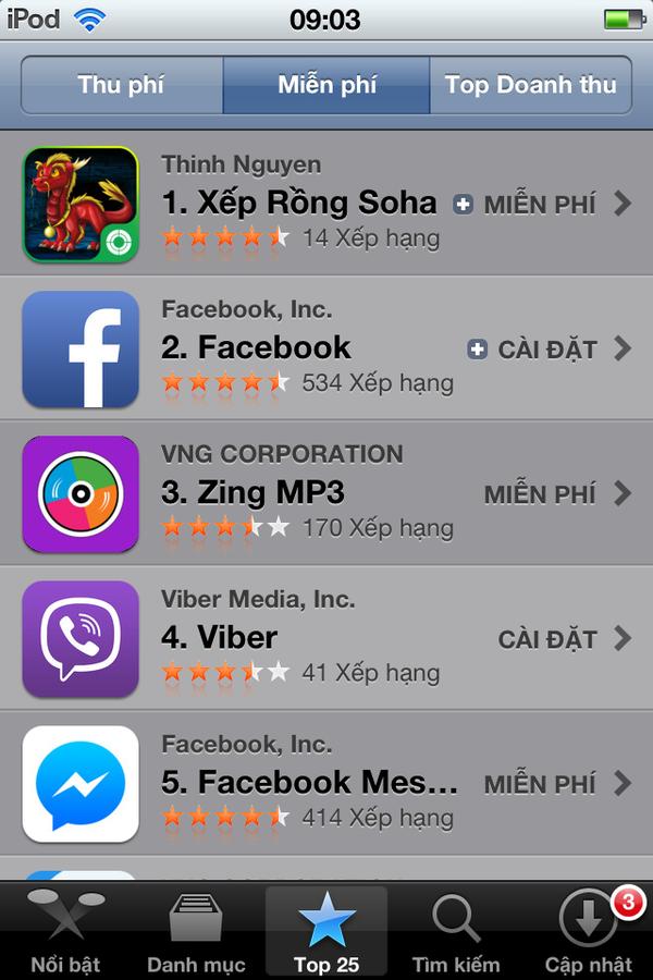 Vì sao Xếp Rồng Soha trở thành quán quân trên Apple Store sau 24h ra mắt? 7