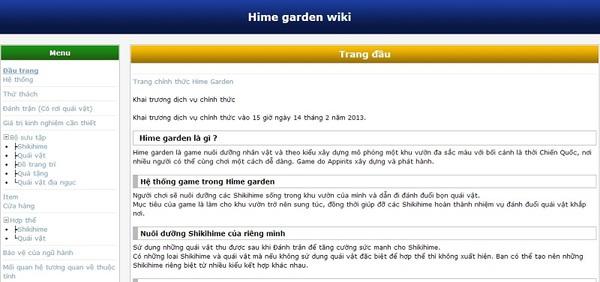 Những lý do khiến người chơi thích Hime Garden 9
