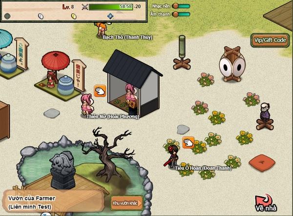 """""""Soi"""" Web game Nhật Bản Hime Garden trước ngày ra mắt 6"""