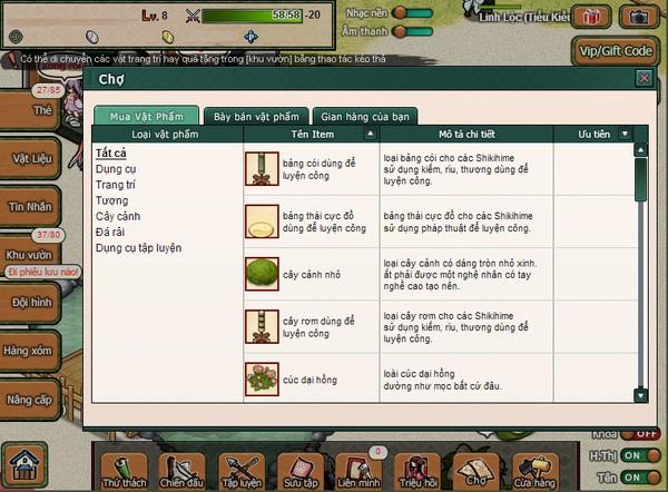 """""""Soi"""" Web game Nhật Bản Hime Garden trước ngày ra mắt 8"""