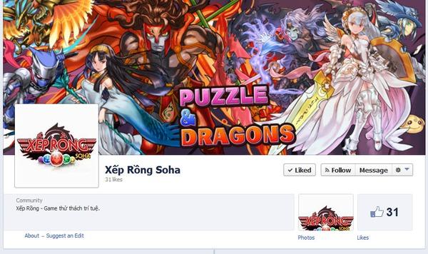 Nghi vấn SohaGame đưa Puzzle & Dragons về Việt Nam 1