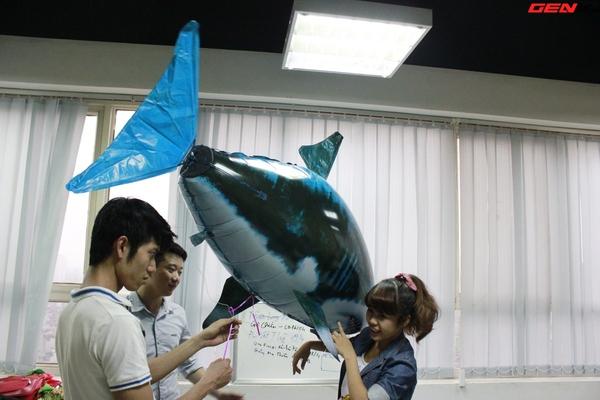 Cá mập bay: Món đồ chơi độc đáo cho người thích công nghệ 3