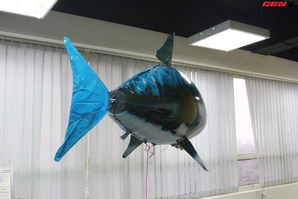 Cá mập bay: Món đồ chơi độc đáo cho người thích công nghệ 6