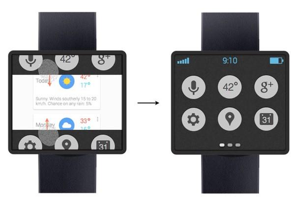 Đồng hồ thông minh của Google sẽ không có viền màn hình 1