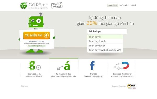 Trình duyệt Cờ Rôm+ của Cốc Cốc: Dễ truy cập Facebook, download nhanh như IDM 2