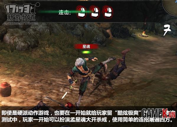 Tổng thể về Tân Lưu Tinh Sưu Kiếm Lục trong lần test thứ 3 2