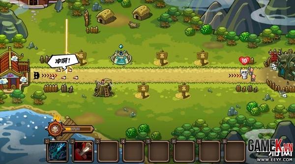Webgame thủ tháp mới lạ Điên Đảo Tây Du về Việt Nam 4