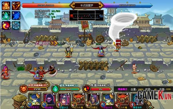 Webgame thủ tháp mới lạ Điên Đảo Tây Du về Việt Nam 12