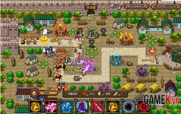 Webgame thủ tháp mới lạ Điên Đảo Tây Du về Việt Nam 13
