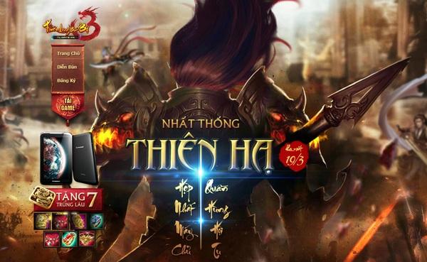 Thiên Long Bát Bộ 3 thưởng 07 Trùng Lâu khuyến mãi thêm Tablet 1