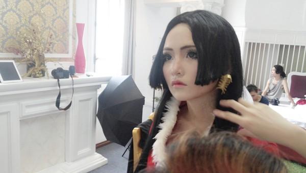 """Hậu trường Cosplay webgame Tân Hải Tặc mang nặng phong cách """"Thánh Nữ"""" 4"""