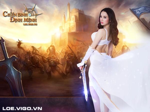 Angela Phương Trinh kiêu sa trong cosplay mừng Chiến Binh Định Mệnh Alpha Test 4