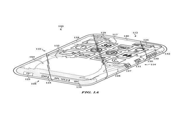 Bằng sáng chế kỳ lạ cho thấy Apple muốn sản xuất iPhone với màn hình cuộn quanh thân máy