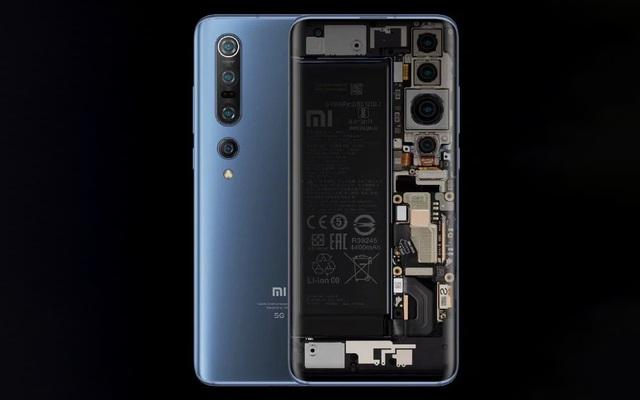 CEO Xiaomi Lei Jun nhá hàng Mi 10 phiên bản mặt lưng trong suốt