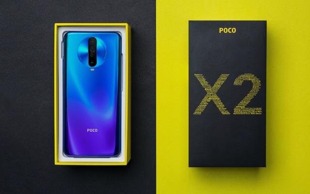 POCO X2 chính thức ra mắt: Màn hình 120Hz, chip SD 730G, RAM 8GB, pin 4.500 mAh, giá bán từ 225 USD