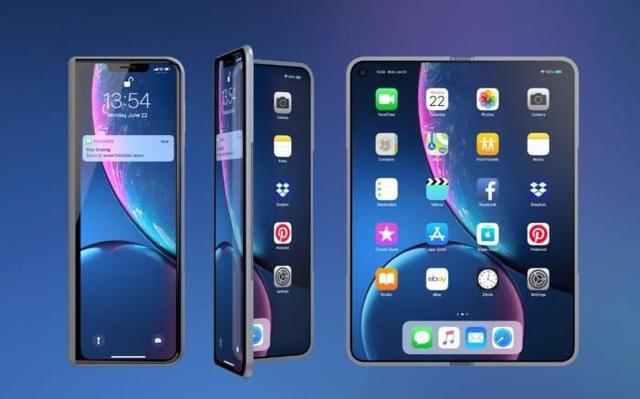 Nếu Apple sản xuất smartphone màn hình gập, chắc chắn nó sẽ không có nếp nhăn như Galaxy Fold