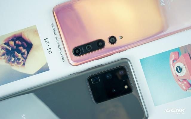Đọ camera Xiaomi Mi 10 và Galaxy S20 Ultra: 108MP máy nào ngon hơn?