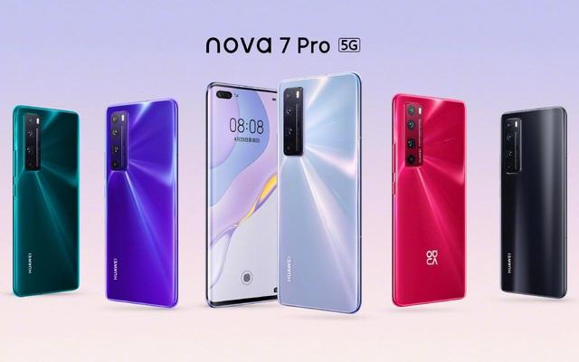 Huawei Nova 7, Nova 7 SE và Nova 7 Pro ra mắt: Hỗ trợ 5G, camera 64MP, giá từ 7.9 triệu đồng