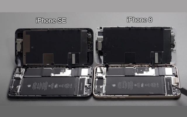 Cận cảnh nội thất iPhone SE mới: Gần như giống hệt iPhone 8, đến mức có thể đổi linh kiện cho nhau