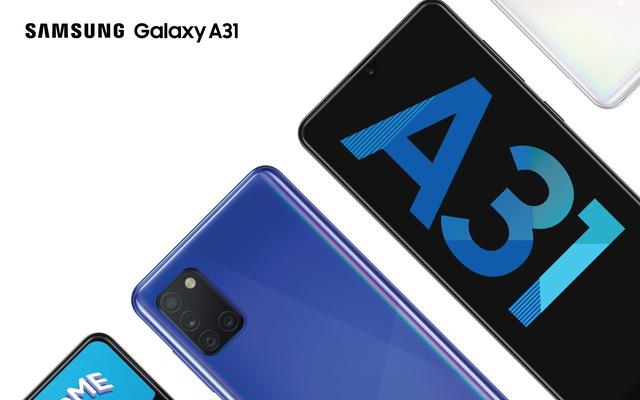 Galaxy A31 ra mắt tại VN: Chip Helio P65, có camera macro, pin 5000mAh, giá 6.5 triệu đồng
