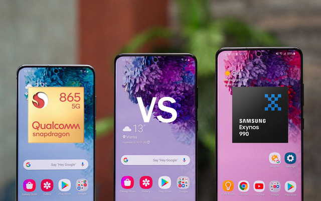 Samsung: Không có sự khác biệt về hiệu năng giữa Exynos 990 và Snapdragon 865