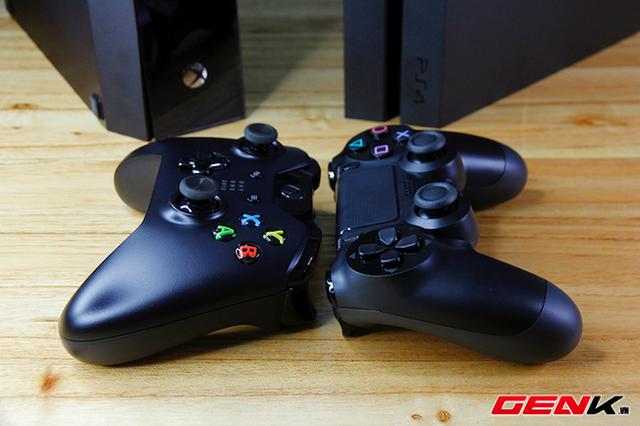 Mở hộp Xbox One tại Việt Nam, so sánh với PS4