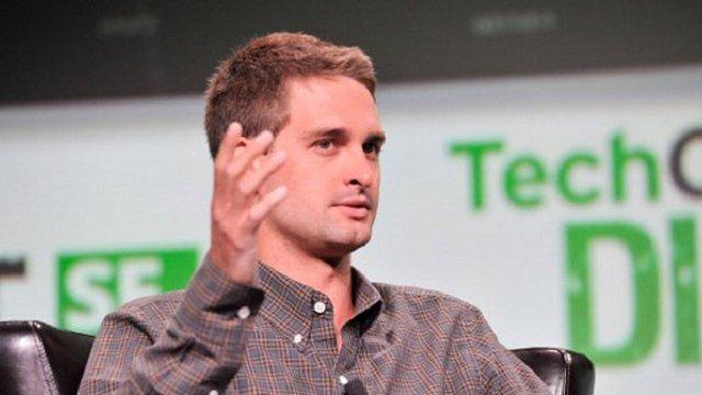 Nhà sáng lập và CEO Snapchat Evan Spiegel.