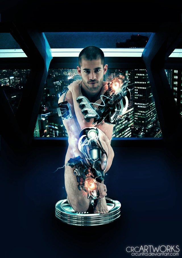 """Những con người 90% trang bị máy móc hoàn toàn có thể trở thành """"kẻ hủy diệt"""" thật sự."""