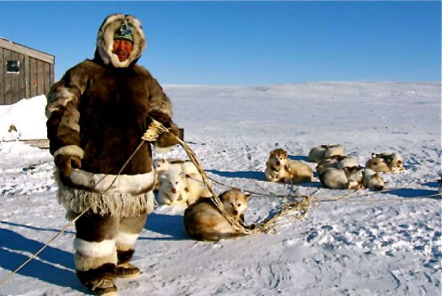 Cuộc sống người Eskimo nơi lạnh giá nhất hành tinh