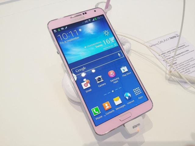 Sẽ có Galaxy Note 3 màu hồng