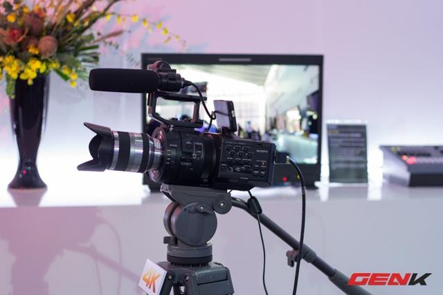 Những máy quay cá nhân 4K mà Genk từng giới thiệu cũng có mặt tại Sony Show