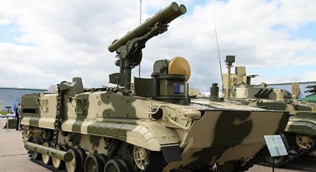Nga phát triển xe chống tăng trên cơ sở MBT Armata