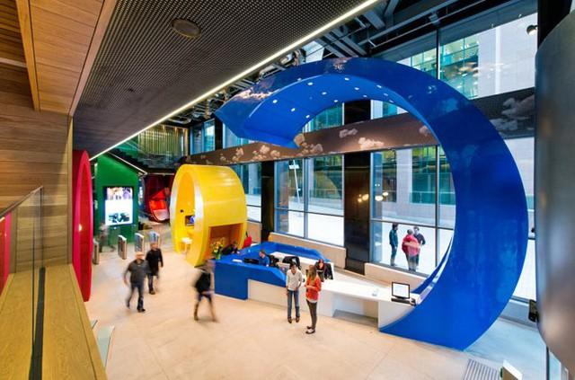 Văn phòng Google ở Dublin.