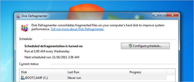 Giải phân mảnh cho Windows, có cần chạy thường xuyên?