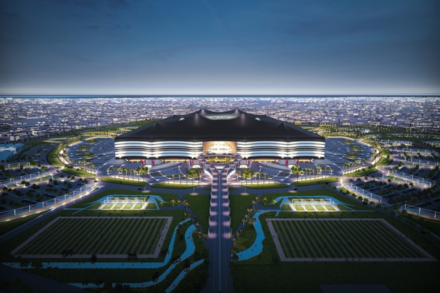 Qatar has unveiled the design of the second of a potential twelve new stadiums to built fo...