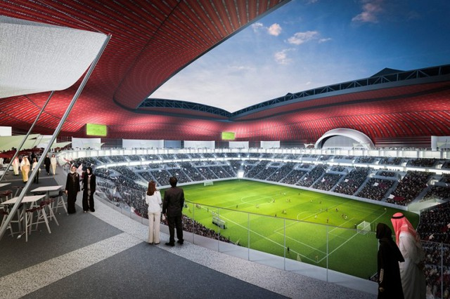 The stadium will seat 60,000 spectators and will be equipped to FIFA-stipulated levels for...
