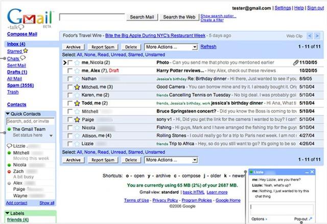 Gmail-2006