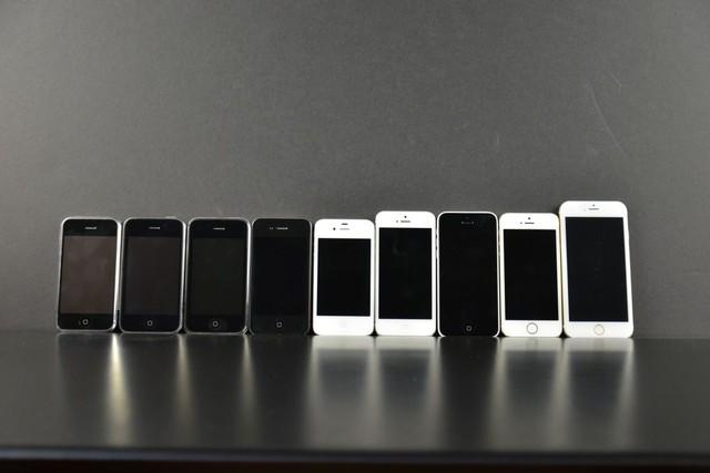 iPhone 6 đọ dáng cùng đại gia đình iPhone