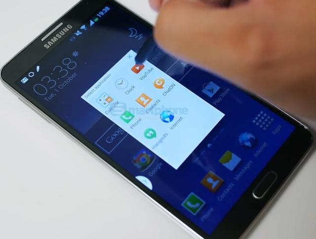 Galaxy Note 4 sẽ chống được nước và sở hữu màn hình 2K