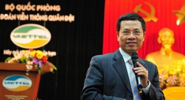 Tân Tổng giám đốc Viettel Nguyễn Mạnh Hùng.