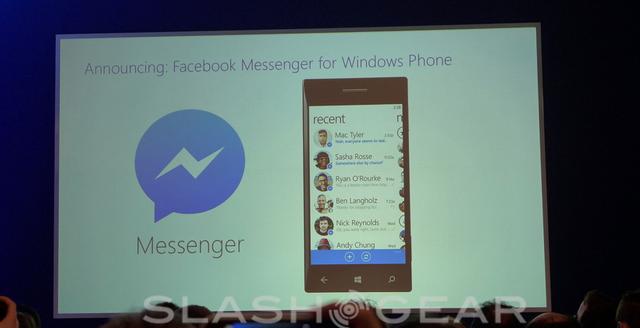 Facebook Messenger chính thức xuất hiện trên Windows Phone