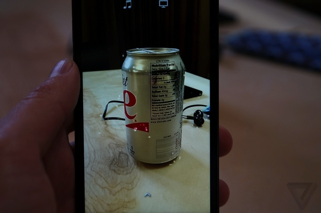 Ảnh thực tế điện thoại Amazon đầu tiên với khả năng nhận diện đồ vật