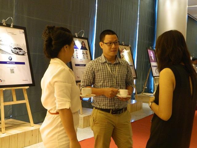 Trải nghiệm khác lạ với dàn case-study tương tác QR code tại Hội thảo Content Marketing (3)