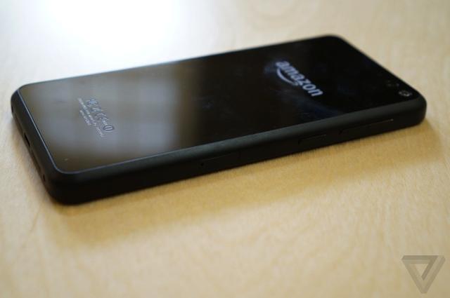 Amazon Fire Phone đọ cấu hình cùng Galaxy S5, HTC One M8, Xperia Z2 và LG G3