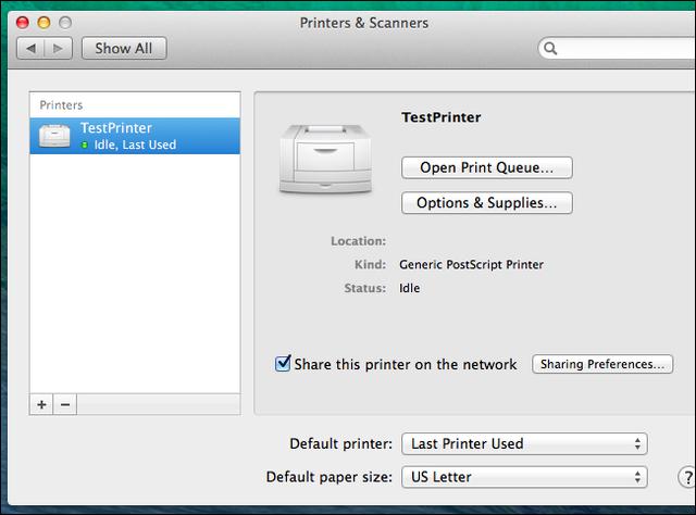 Dùng chung máy in giữa Windows, Mac và Linux trong cùng 1 mạng