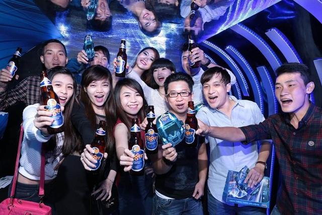 """Hứng khởi cùng lễ hội """"Hành trình sôi động"""" của bia Tiger"""
