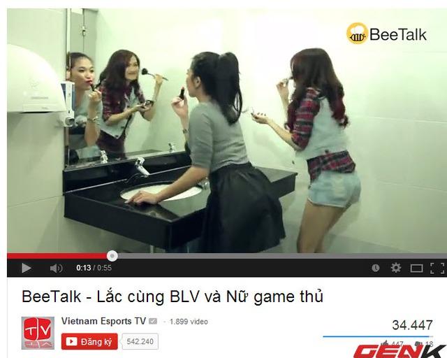 VETV - Kênh Youtube chính thức của Garena Việt Nam cũng quảng bá BeeTalk